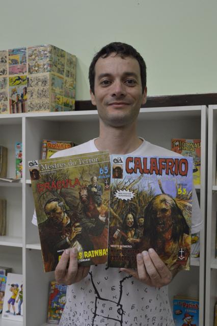 Gibiteca: Lançamento de livros e palestra são sucesso em ...