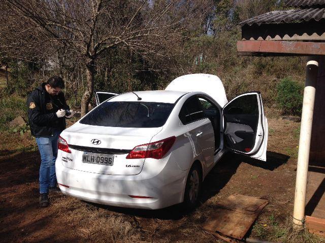 Ca�ador- Carro da V�tima de Sequestro relampago � localizado pela Policia!